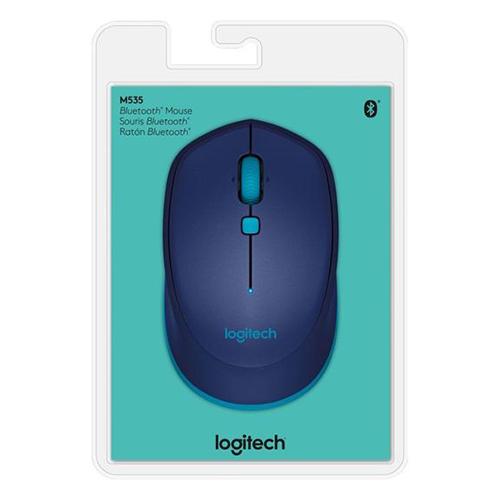 Mouse Logitech Sem Fio Bluetooth M535