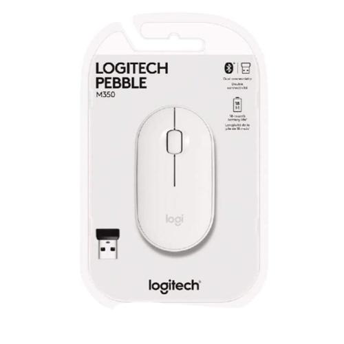 Mouse Logitech Sem Fio Pebble M350