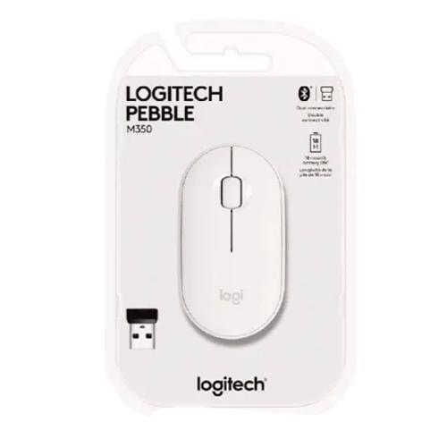 Mouse sem fio Logitech Pebble Bluetooth M350
