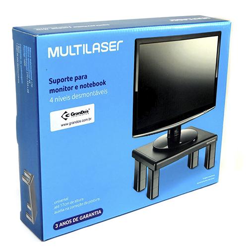 Suporte Quadrado para Monitor e Notebook Multilaser