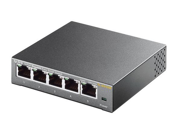 Switch Easy Smart Gigabit 5 Portas TL-SG105E TP-Link