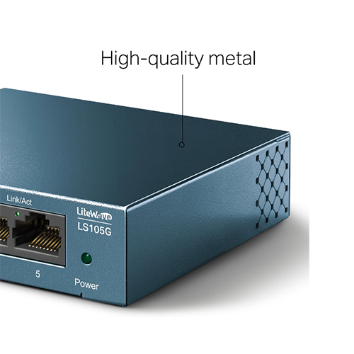 Switch Gigabit de Mesa 5 portas LS105G TP-Link
