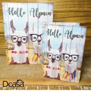 Kit 2 Livros Caixa Floral Alpaca