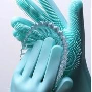 Luva Esponja de Silicone