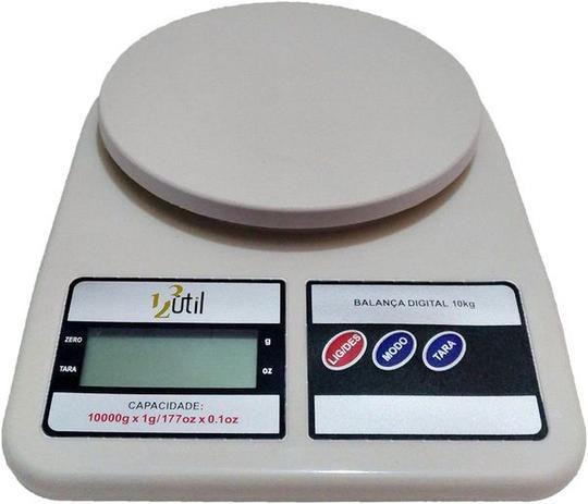 Balança Digital para Cozinha - 10Kg