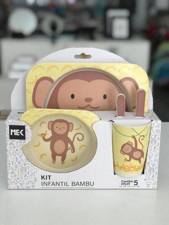 Kit Infantil Bambu