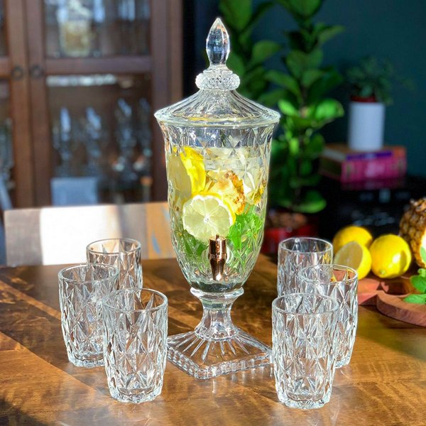 Suqueira de Cristal Diamond