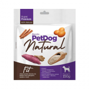 Biscoito Natural para Cães Super Premium PetDog Fit - 150 g