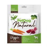 Biscoito Natural para Cães Super Premium PetDog Veggie - 150 g