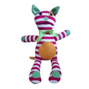 Brinquedo Artesanal para Cachorro de Malha Premium - Gatinho