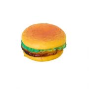 Brinquedo Mordedor Sonoro de Vinil para Cães Hambúrguer