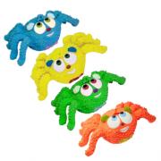 Brinquedo Mordedor Sonoro Macio Látex - Aranha Lili Cores Sortidas