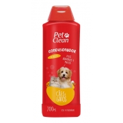 Condicionador para Cães e Gatos Pet Clean - Cães e Gatos - 700 ml