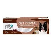 Gel Dental para Cães e Gatos Pet Clean - 60 g - Sabor Chocolate