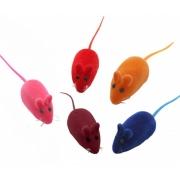 Brinquedo para Gatos Ratinho com Apito - Cores Sortidas Tam. Único