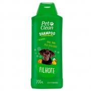 Shampoo e Condicionador para Cães e Gatos Pet Clean - Filhotes - 700 ml