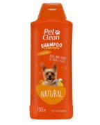 Shampoo e Condicionador para Cães e Gatos Pet Clean - Natural - 700 ml