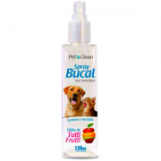 Spray Bucal para Cães e Gatos Pet Clean 120 ml - Tutti Frutti