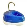 Fonte Bebedouro Elétrico para Gatos com Torneira de Metal - 1,5 Litros - Azul