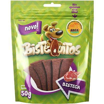 Bifinho Bistequitos para Cães Sabor Bisteca - 50 g