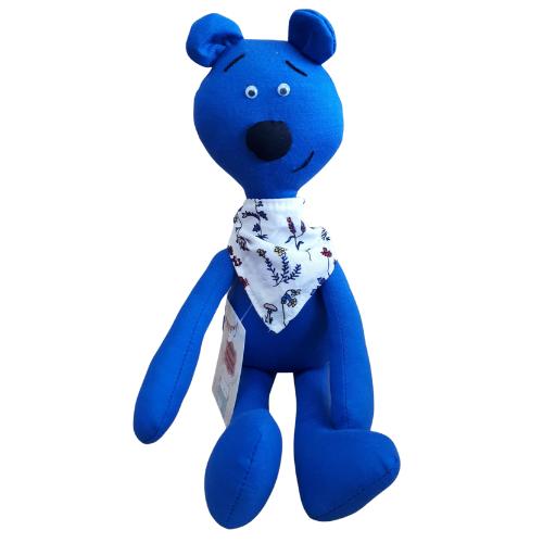 Brinquedo Artesanal para Cachorro de Malha Premium - Ursinho