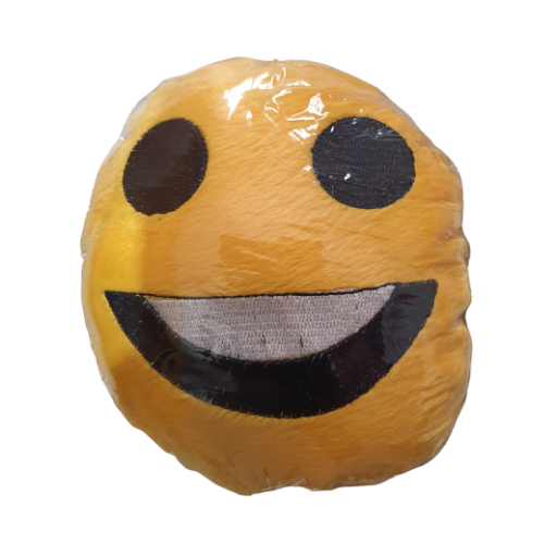 Brinquedo de Pelúcia Emoji Feliz - Tam. Único