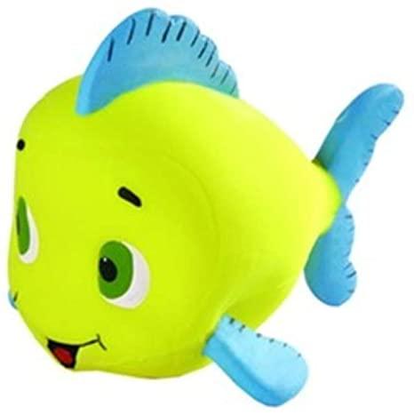 Brinquedo Mordedor Sonoro Macio Látex - Peixinho Moby Cores Sortidas