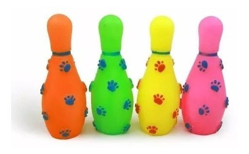 Kit 3 Brinquedos Mordedores Sonoros de Vinil para Cachorros - Sortidos