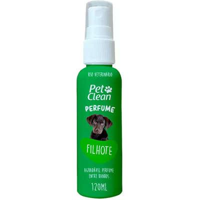 Perfume para Cães e Gatos Pet Clean Filhote 120 ml