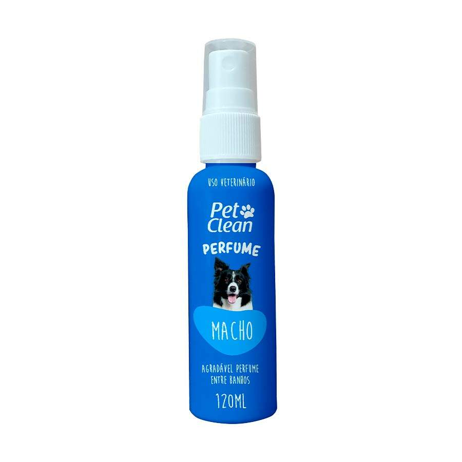 Perfume para Cães e Gatos Pet Clean Macho 120 ml