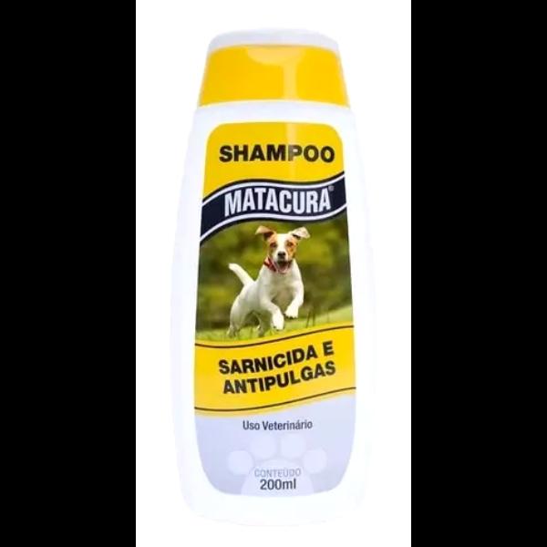 Shampoo Sarnicida e Antipulgas para Cães Matacura - 200 ml