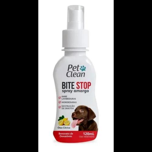 Spray Amargante Adestrador Bite Stop Pet Clean - 120 ml