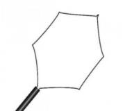 Alça Polipectomia Hexagonal Colono Descartável - Abertura 24