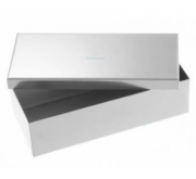 Caixa de Aço Inox 30 X 16 X 8 cm