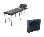 Mesa Para Massagem Mala Dobrável Com Cabeceira Móvel