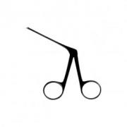 Pinça Para Biópsia Micro 8 cm Curva Para Direita Auricular