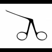 Tesoura Bellucci Micro 8 cm Curva Para Esquerda Auricular