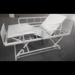 Cama Fowler Com Elevação Tubular Motorizada Cabeceira e Peseira MDF