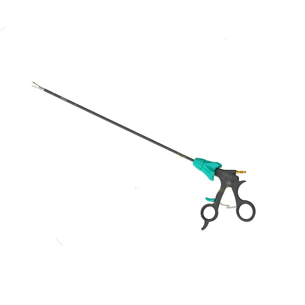 Pinça de Apreensão ESP. Vesícula Fenestrada 5 mm X 36 cm Com Cremalheira