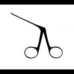 Pinça Hartmann Micro 8 cm Curva Para Esquerda Auricular