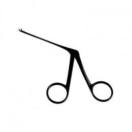 Pinça Para Biópsia Micro 8 cm Curva Para Cima Auricular