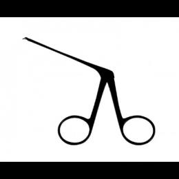 Tesoura Bellucci Micro 8 cm Curva Para Direita Auricular