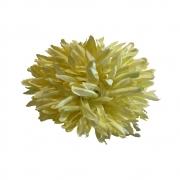 Porta guardanapo de flor amarela com pérola