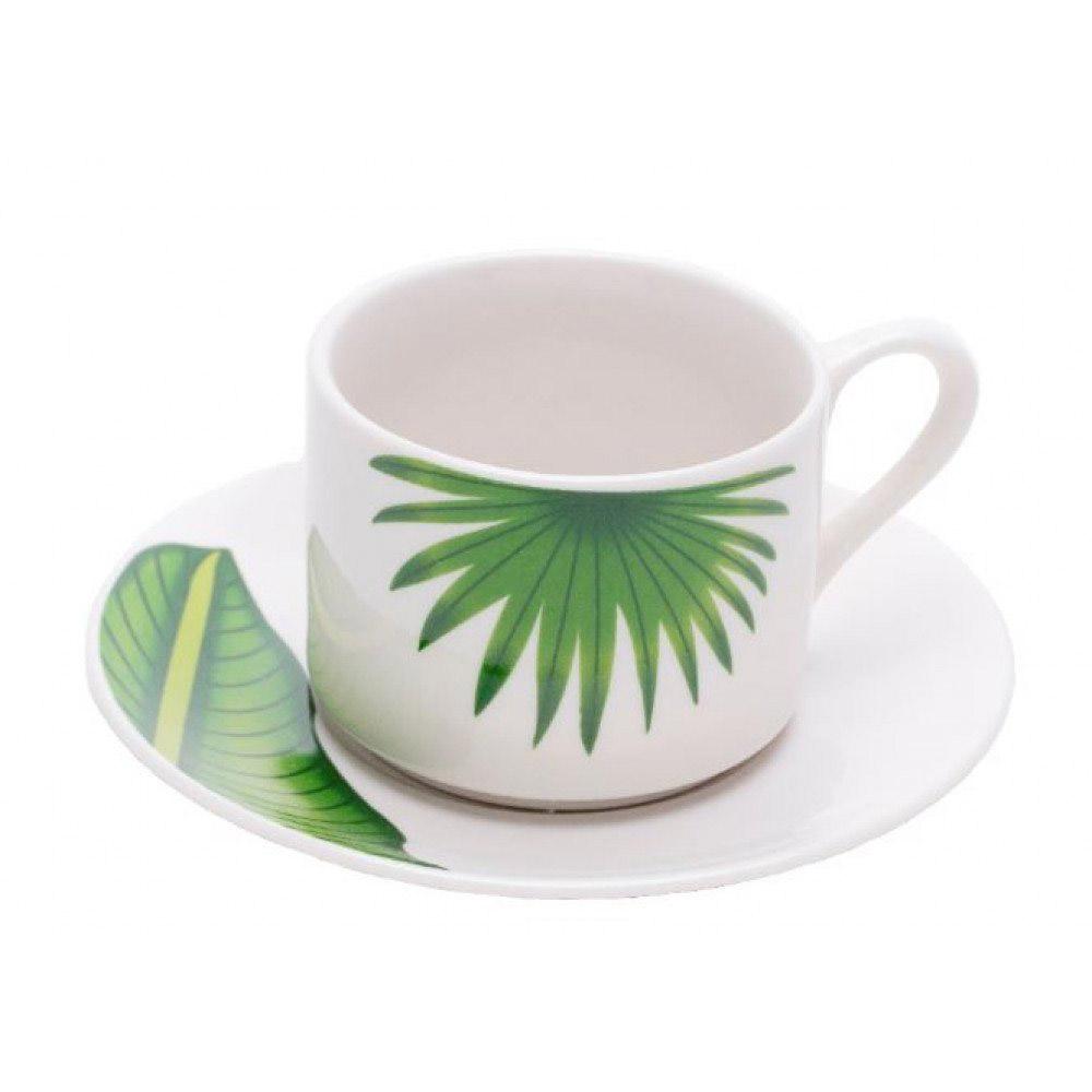 Aparelho de jantar e chá de porcelana 20pcs Leaves