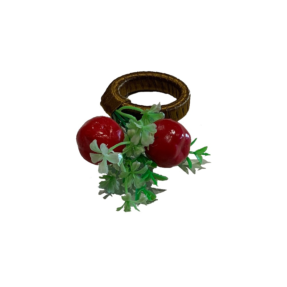 Porta guardanapo cereja