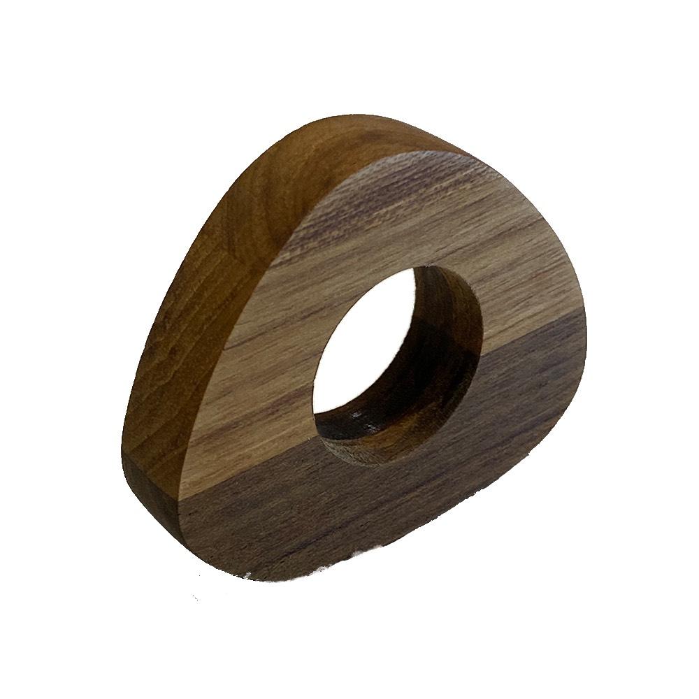 Porta guardanapo de madeira paleta 'hygge'