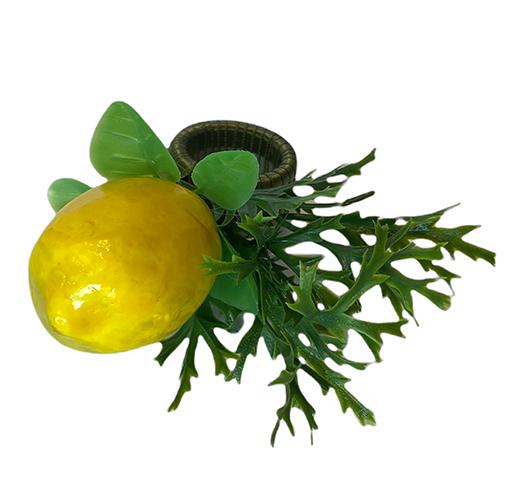 Porta guardanapo 'limão ciciliano'
