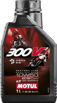 MOTUL 300V FACTORY LINE 4T PI 15W50 12X1L