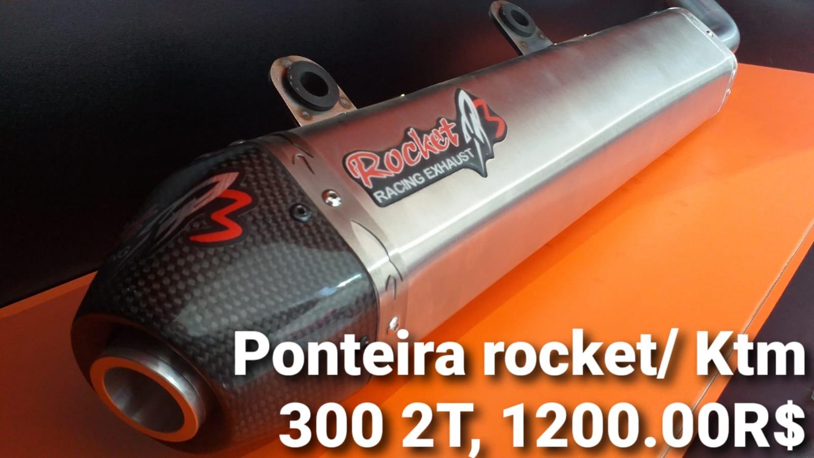 PONTEIRA ROCKET 3 KTM 2T