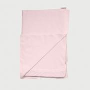 Jogo De Lençol Para Berço 2 Peças Malha Liso Rosa
